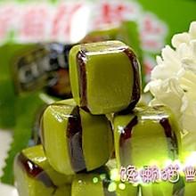 <抹茶牛奶糖>这款奶糖是日本最受欢迎的奶糖哦