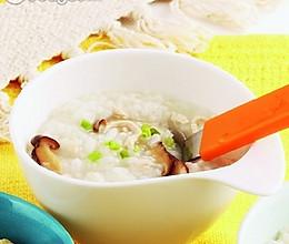 香菇鸡丝粥的做法