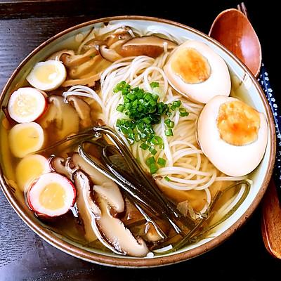 日式味噌汤面