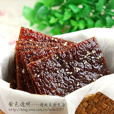 香辣黑椒蜜汁猪肉铺