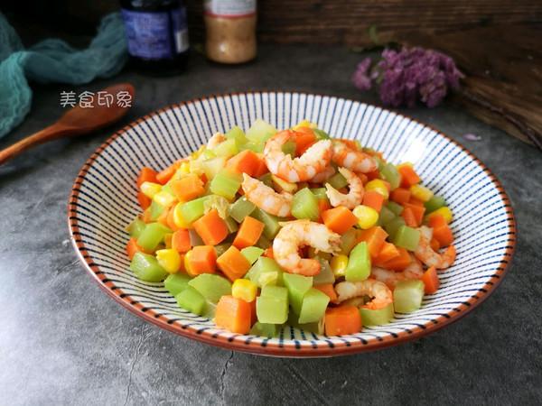 #母亲节,给妈妈做道菜#时蔬炒虾仁