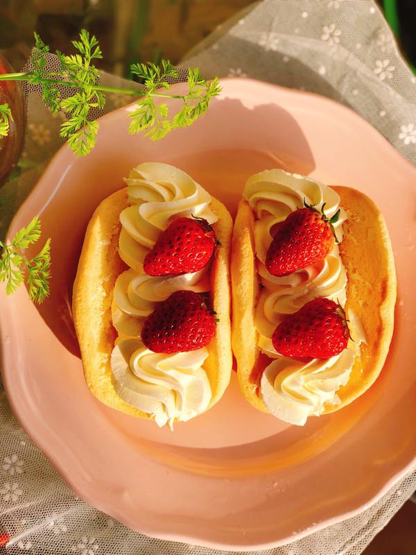 网红草莓蛋糕