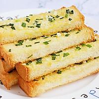 #花10分钟,做一道菜!#蒜蓉吐司条的做法图解8