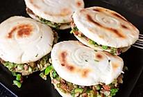 #我们约饭吧#  白吉馍➕腊汁肉的做法