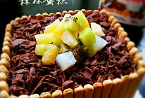 森林蛋糕的做法