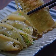 角瓜鲜蛤肉锅贴