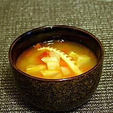 西红柿土豆咸笋汤