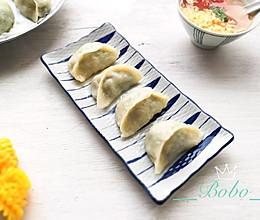 小白菜蒸饺#馅儿料美食,哪种最好吃#的做法