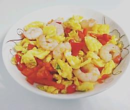 虾仁鸡蛋(可做减肥餐)的做法