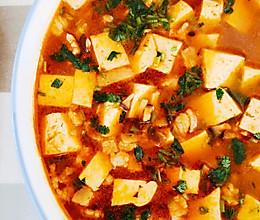 日式香菇豆腐汤的做法