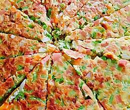 杂蔬饼的做法