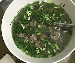 驴肉丸子汤的做法