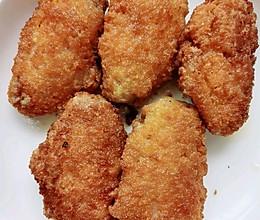 简单易上手的面包糠炸鸡翅的做法