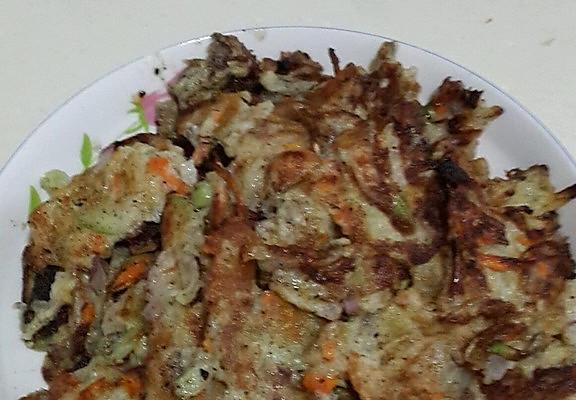香煎蔬菜饼的做法