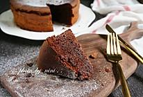 无粉巧克力蛋糕的做法