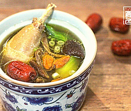 茶树菇鸡汤-美的食色的做法