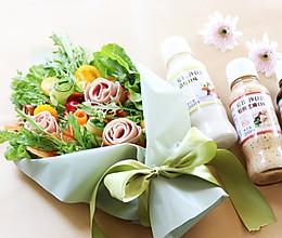 花束沙拉-丘比沙拉汁的做法