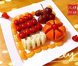 提子香蕉圣女果橙子橘子什锦果盘的做法