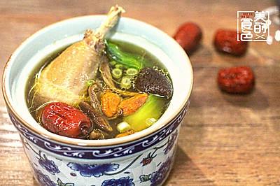 茶树菇鸡汤-美的食色
