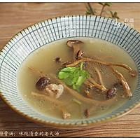 茶树菇排骨汤:味纯清香的老火汤的做法图解9
