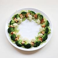 圣诞花环-丘比沙拉汁的做法图解10