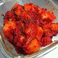 韩国泡菜的秘密【自制辣白菜】正宗发酵蜜桃爱营养师私厨的做法图解56