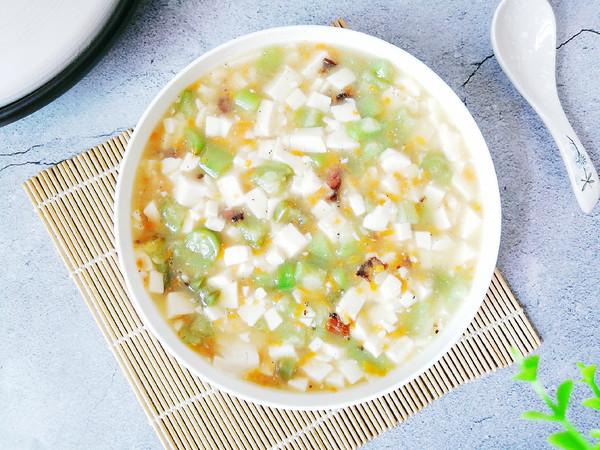 丝瓜豆腐羹的做法
