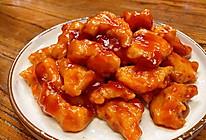 糖醋里脊,鸡胸肉版,超级嫩滑的做法