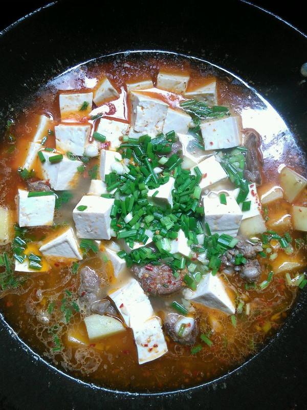 土豆豆腐排骨汤