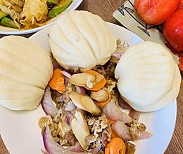 贝壳小饼,夹肉肉超好吃的做法