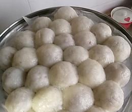粘豆包的做法