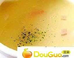 玉米鸡茸的做法