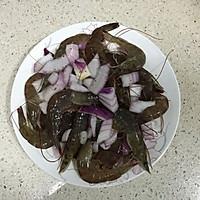 胡椒洋葱虾#美的微波炉菜谱#的做法图解4