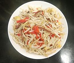 菠萝蜜丝炒肉丝的做法