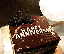 巧克力淋面蛋糕【3】万能基础慕斯 — 白巧慕斯的做法