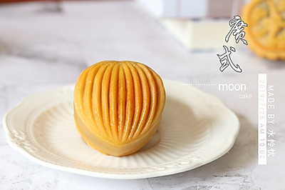 #金龙鱼精英百分百烘焙大赛阿小宝战队# 广式五仁月饼