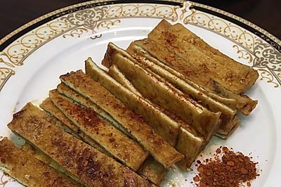 家庭版烤豆腐干