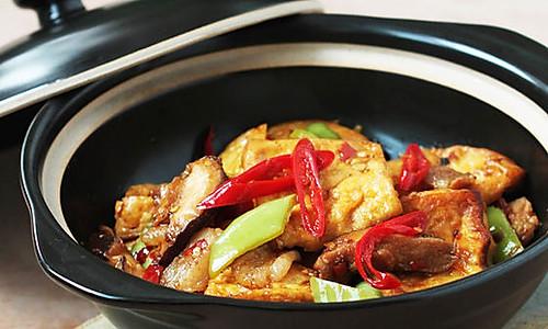 干锅千层豆腐的做法