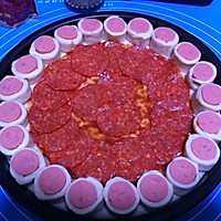 客浦TO5330烤箱------花边萨拉米肠披萨的做法图解16