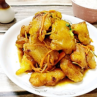 东北硬菜锅包肉的做法图解14