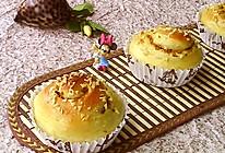 #柏翠辅食节-烘焙零食#香橙面包卷的做法