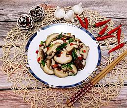 家常菜–凉拌花菇的做法