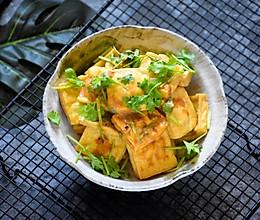 #人人能开小吃店#街边小吃自己做,干净卫生又好吃的炸臭豆腐的做法