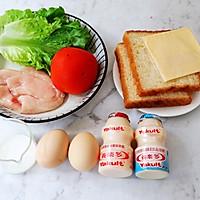 畅快早餐,元气满满一整天  ~黑椒鸡胸肉厚蛋三明治的做法图解1