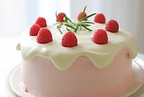 【视频】树莓奶油 滴落蛋糕的做法