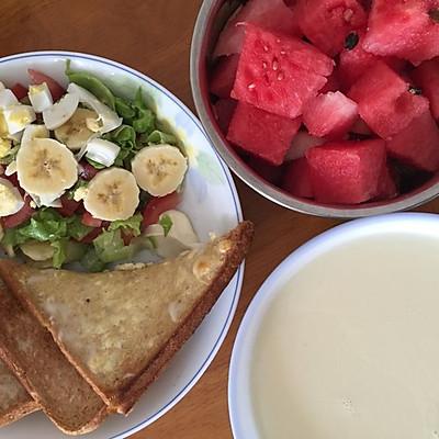 健康低脂早餐