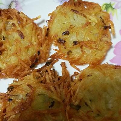 土豆丝饼(洋芋擦擦)