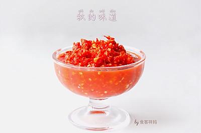 """秋天就该""""辣""""么吃,超级美味的自制剁椒酱"""