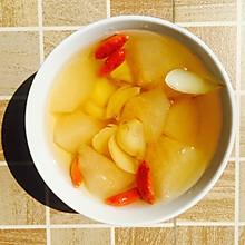 秋梨百合枸杞糖水