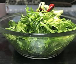凉拌苦苣的做法